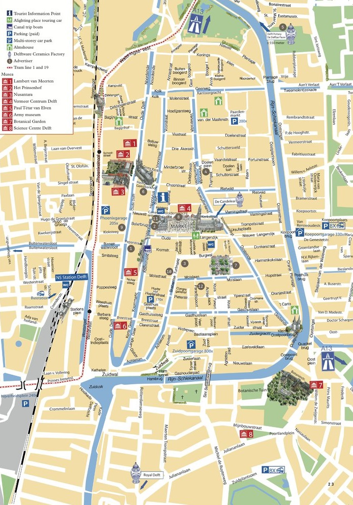 Whats on in Delft Map